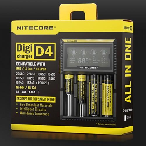 Nitecore D2 oplader