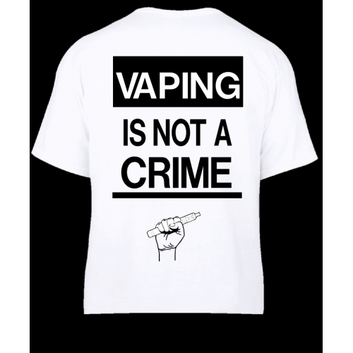 Vaping is not a crime