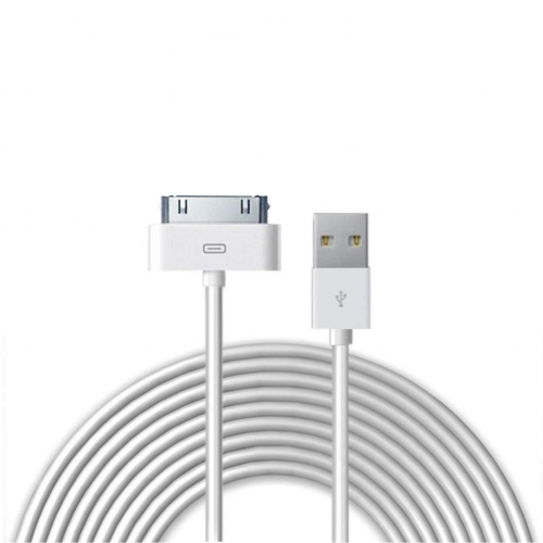 Iphone4 oplader, USB kabel, datakabel